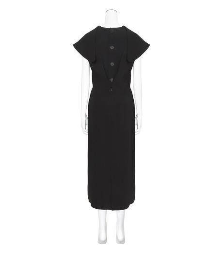 J.W.Anderson(ジェイダブリュー アンダーソン)のDeconstructed Dress-BLACK(ワンピース/one piece)-DR16-13 詳細画像2