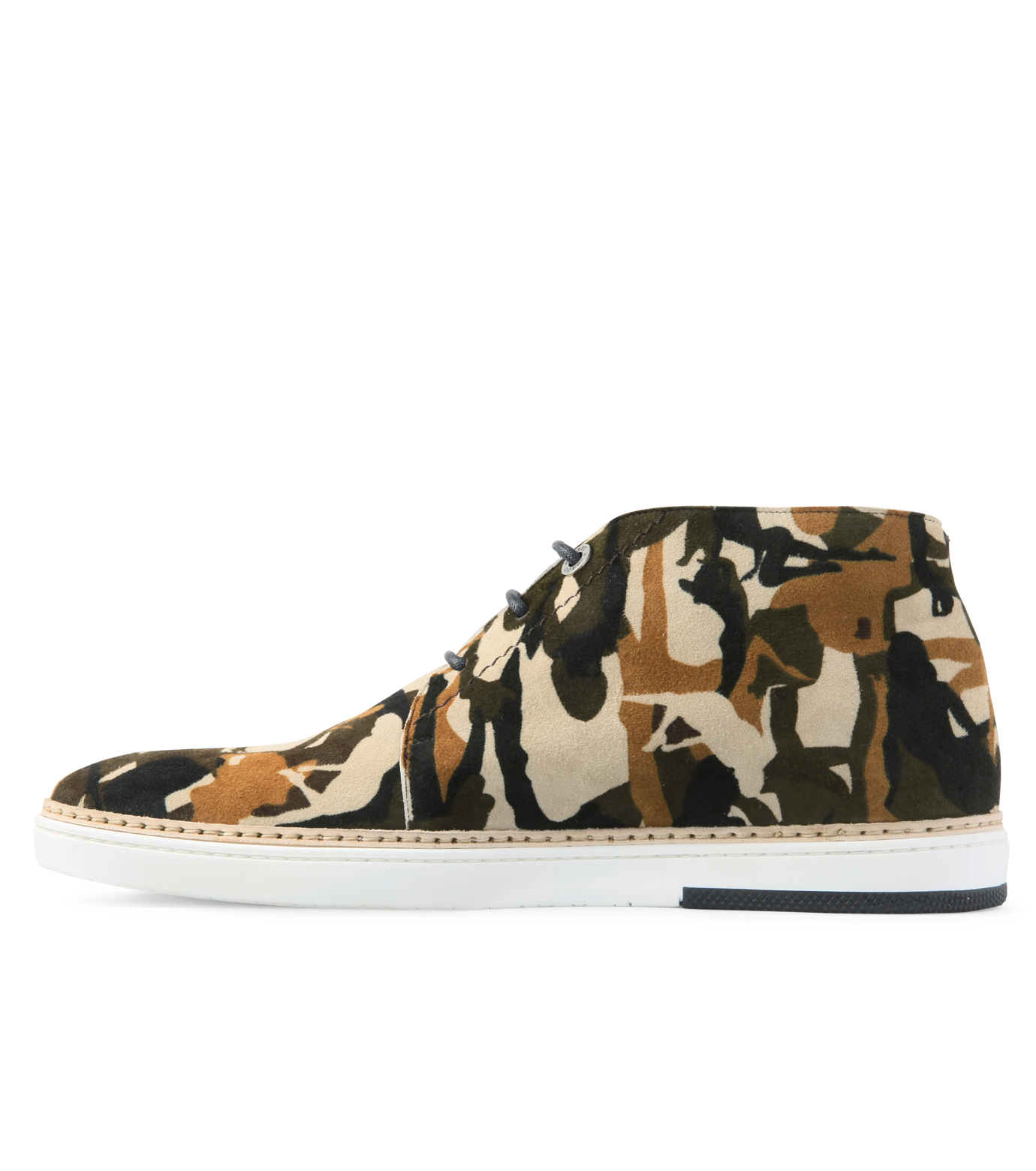 Jimmy Choo(ジミーチュウ)のCamo print desert boots-LIGHT BROWN-DRAKE-CPD-41 拡大詳細画像2