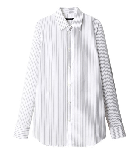 DRESSEDUNDRESSED(ドレスドアンドレスド)のPinstripe Color Block Men's Shirt-WHITE(シャツ/shirt)-DUW16105-4-W 詳細画像1