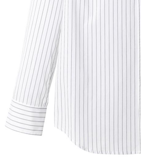 DRESSEDUNDRESSED(ドレスドアンドレスド)のPinstripe Color Block Men's Shirt-WHITE(シャツ/shirt)-DUW16105-4-W 詳細画像3