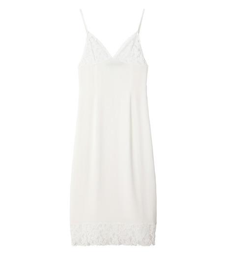 DRESSEDUNDRESSED(ドレスドアンドレスド)のSlip Dress-WHITE(ワンピース/one piece)-DUW16190-4 詳細画像1