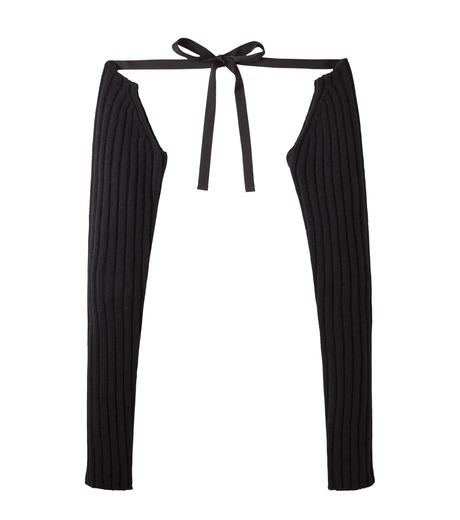 DRESSEDUNDRESSED(ドレスドアンドレスド)のKnit Sleeve-BLACK(アクセサリー/accessory)-DUW16281-13 詳細画像1