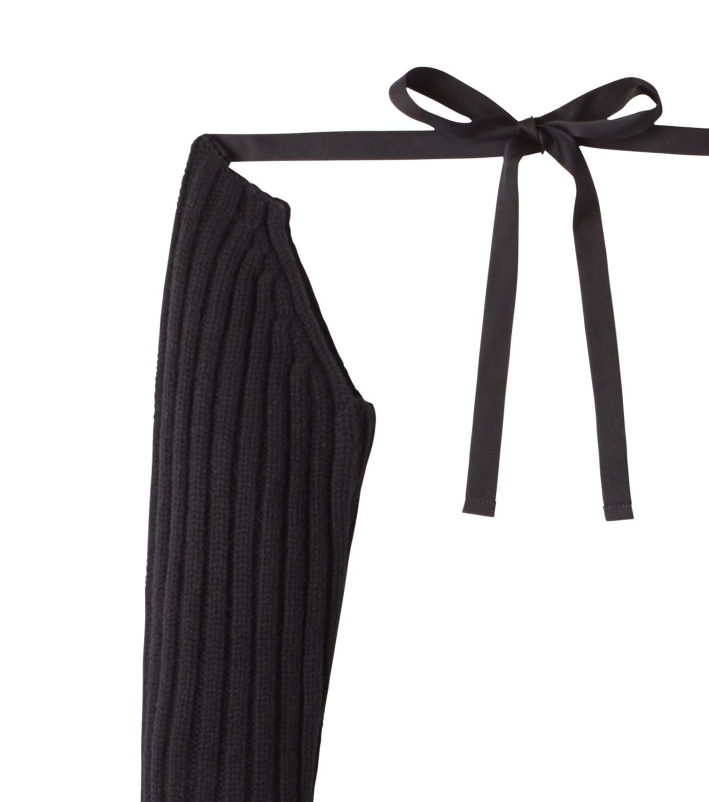 DRESSEDUNDRESSED(ドレスドアンドレスド)のKnit Sleeve-BLACK(アクセサリー/accessory)-DUW16281-13 拡大詳細画像2