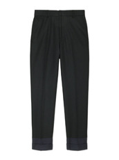 DRESSEDUNDRESSED Contrastcolor Cropped Trousers
