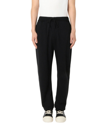 DRESSEDUNDRESSED(ドレスドアンドレスド)のDamaged Drawstring Trackpants-BLACK-DUW16352-13 詳細画像1