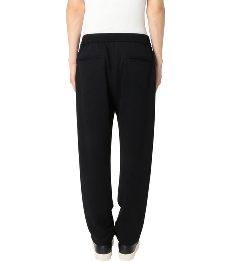 DRESSEDUNDRESSED(ドレスドアンドレスド)のDamaged Drawstring Trackpants-BLACK-DUW16352-13 詳細画像2