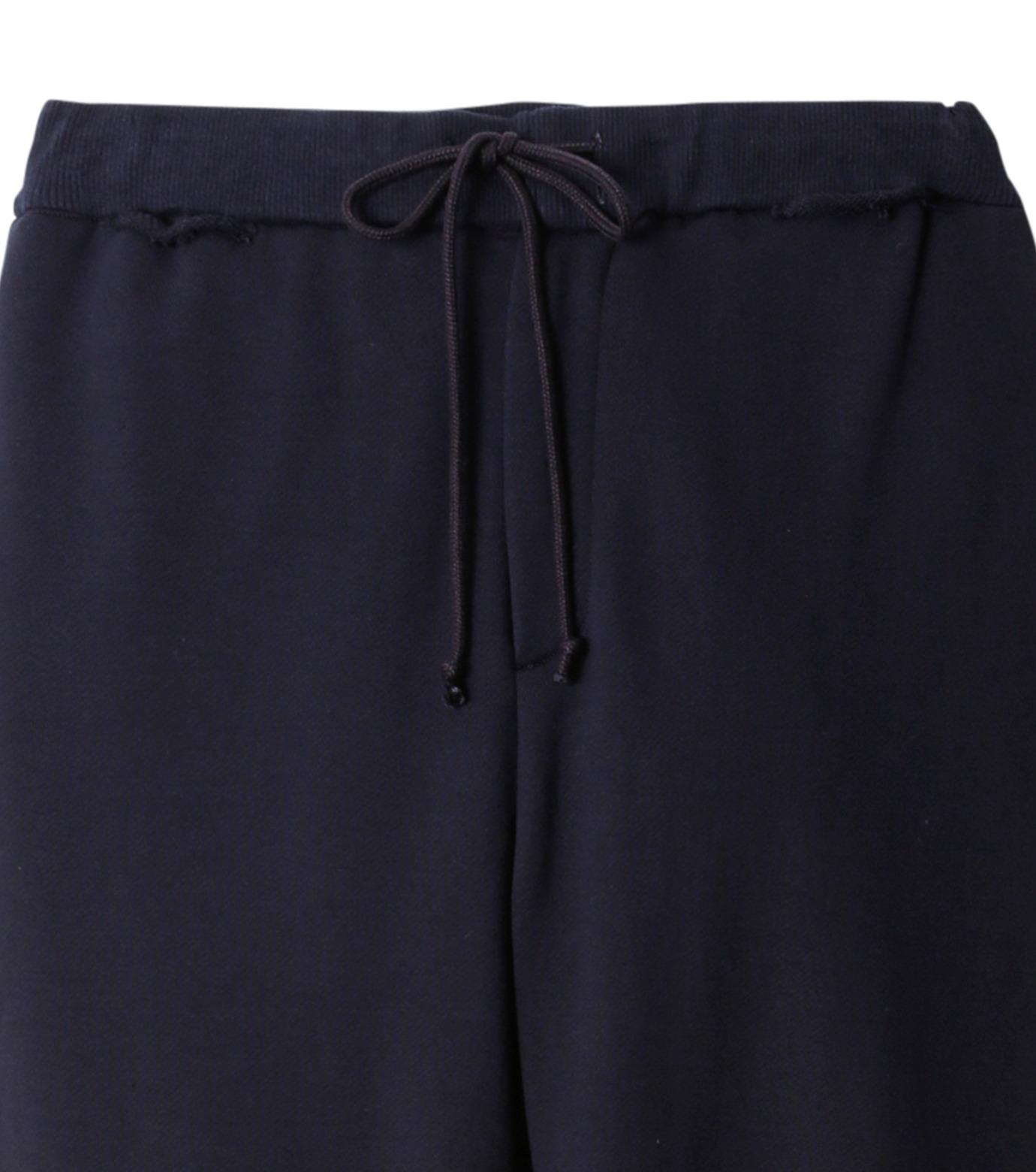 DRESSEDUNDRESSED(ドレスドアンドレスド)のCotton Damaged Trackpants-NAVY(パンツ/pants)-DUW16352-93 拡大詳細画像2