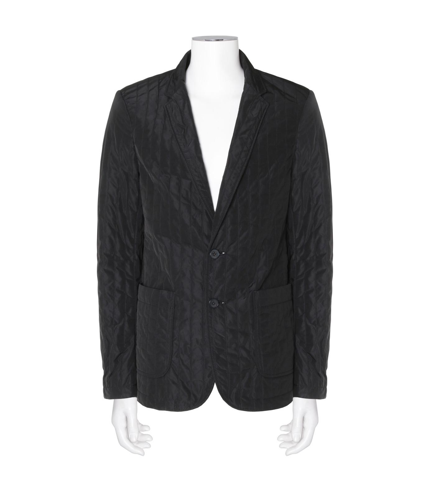 DRESSEDUNDRESSED(ドレスドアンドレスド)のStripe Quilted Blazer-BLACK(ジャケット/jacket)-DUW16402-13 拡大詳細画像1