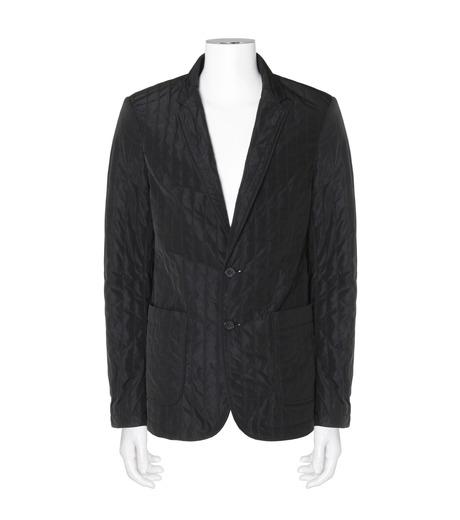 DRESSEDUNDRESSED(ドレスドアンドレスド)のStripe Quilted Blazer-BLACK(ジャケット/jacket)-DUW16402-13 詳細画像1