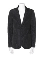 DRESSEDUNDRESSED(ドレスドアンドレスド) Stripe Quilted Blazer