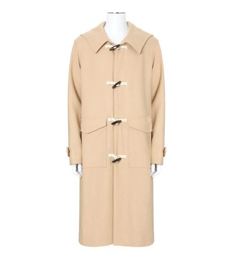 DRESSEDUNDRESSED(ドレスドアンドレスド)のMelton Wool Duffle Coat-BEIGE(コート/coat)-DUW16551-52 詳細画像1