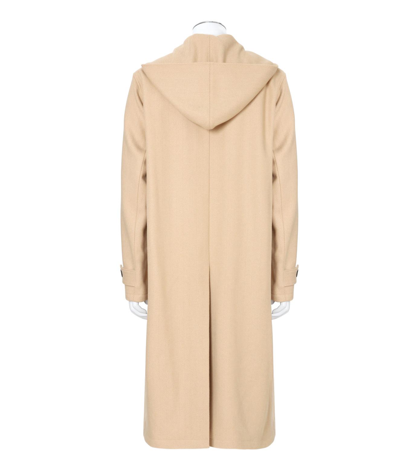 DRESSEDUNDRESSED(ドレスドアンドレスド)のMelton Wool Duffle Coat-BEIGE(コート/coat)-DUW16551-52 拡大詳細画像2