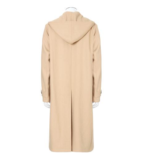 DRESSEDUNDRESSED(ドレスドアンドレスド)のMelton Wool Duffle Coat-BEIGE(コート/coat)-DUW16551-52 詳細画像2