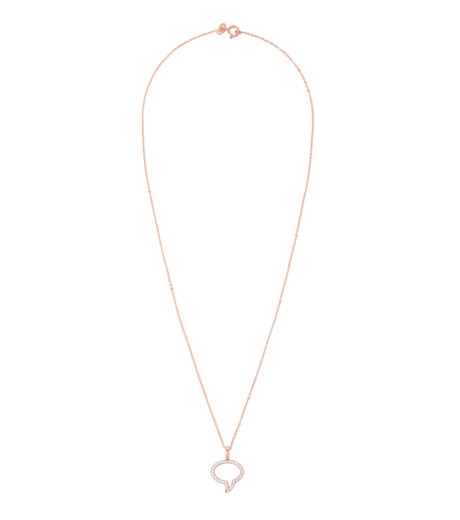 Priyanka(プリヤンカ)のSpeech Bubble Necklace-ROSE(ネックレス/necklace)-E-015-75 詳細画像1