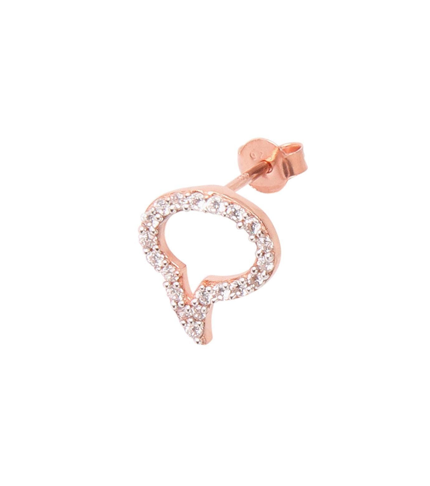 Priyanka(プリヤンカ)のSpeech Bubble Earrings-ROSE-E-18-75 拡大詳細画像2