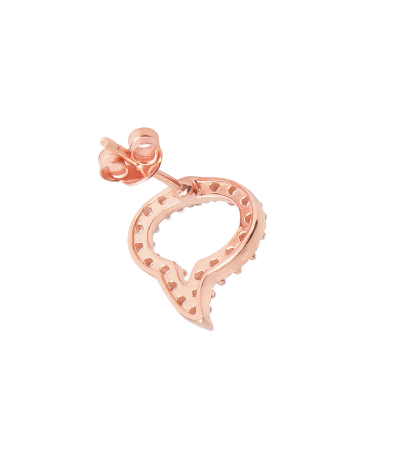 Priyanka(プリヤンカ)のSpeech Bubble Earrings-ROSE-E-18-75 拡大詳細画像3