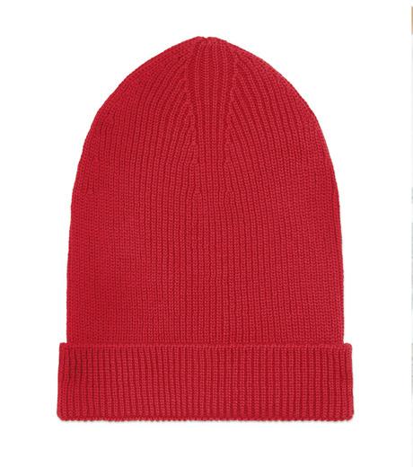 Ami(アミ)のKnit Cap-RED(アクセサリー/accessory)-E15K3102-62 詳細画像1
