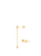 Maria Francesca Pepe(マリア フランチェスカ ペペ) Pierced Set of 2earrings/Ear Cuff