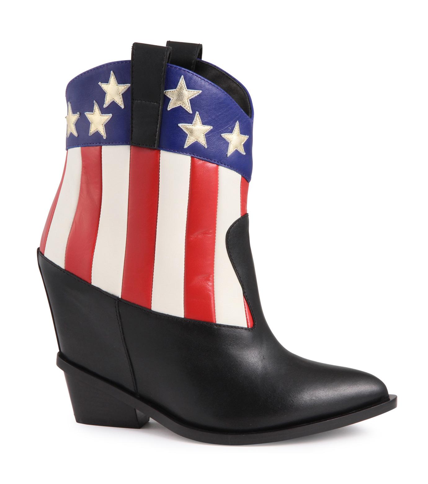 Giuseppe Zanotti Design(ジュゼッペザノッティ)のAmerican Flag Western Boots-MULTI COLOUR(ブーツ/boots)-E37042-9 拡大詳細画像1