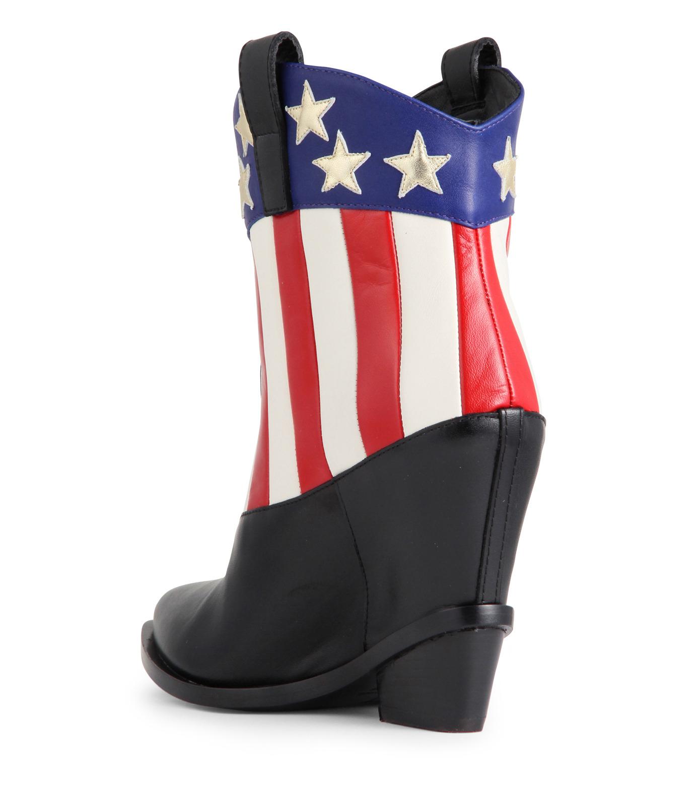 Giuseppe Zanotti Design(ジュゼッペザノッティ)のAmerican Flag Western Boots-MULTI COLOUR(ブーツ/boots)-E37042-9 拡大詳細画像2