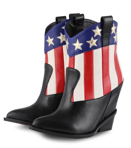 Giuseppe Zanotti Design(ジュゼッペザノッティ)のAmerican Flag Western Boots-MULTI COLOUR(ブーツ/boots)-E37042-9 詳細画像3