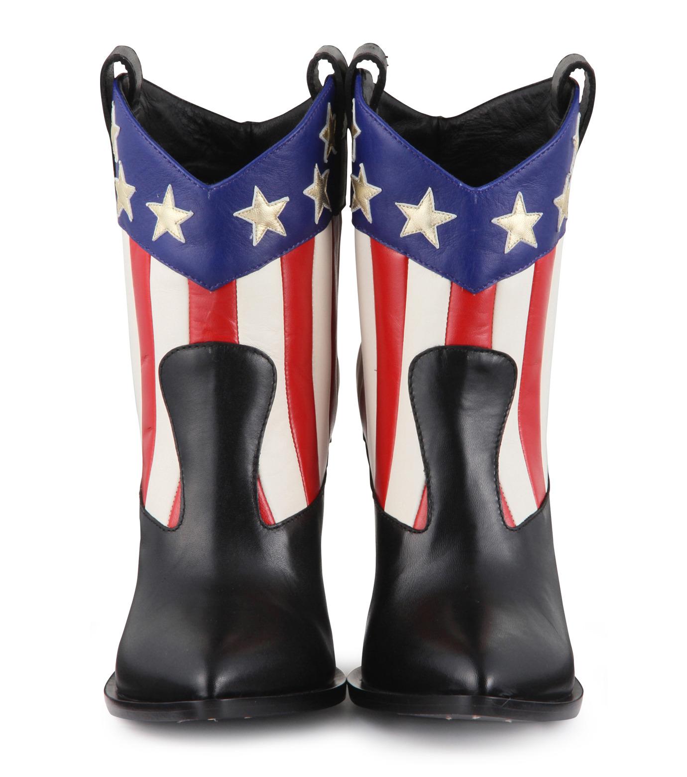 Giuseppe Zanotti Design(ジュゼッペザノッティ)のAmerican Flag Western Boots-MULTI COLOUR(ブーツ/boots)-E37042-9 拡大詳細画像4