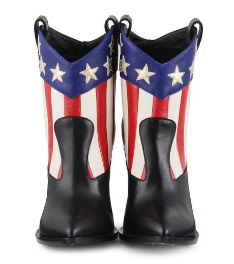 Giuseppe Zanotti Design(ジュゼッペザノッティ)のAmerican Flag Western Boots-MULTI COLOUR(ブーツ/boots)-E37042-9 詳細画像4