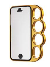 knuckle case Polished Gold