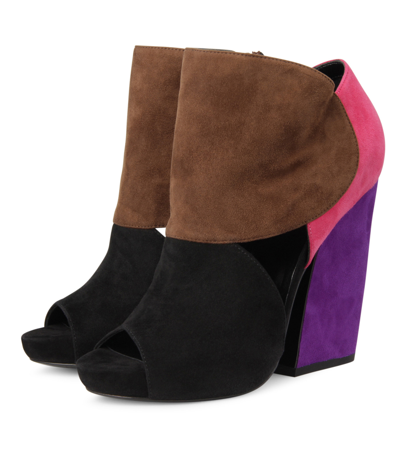 Pierre Hardy(ピエール アルディ)のMixed color bootie-MULTI COLOUR(ブーツ/boots)-EC02-9 拡大詳細画像3