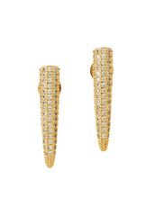 Eddie Borgo MINI PAVE SPIKE EARRING