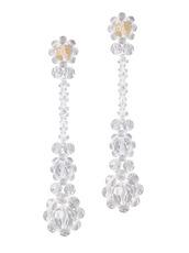 Simone Rocha Crystal Earring Flower
