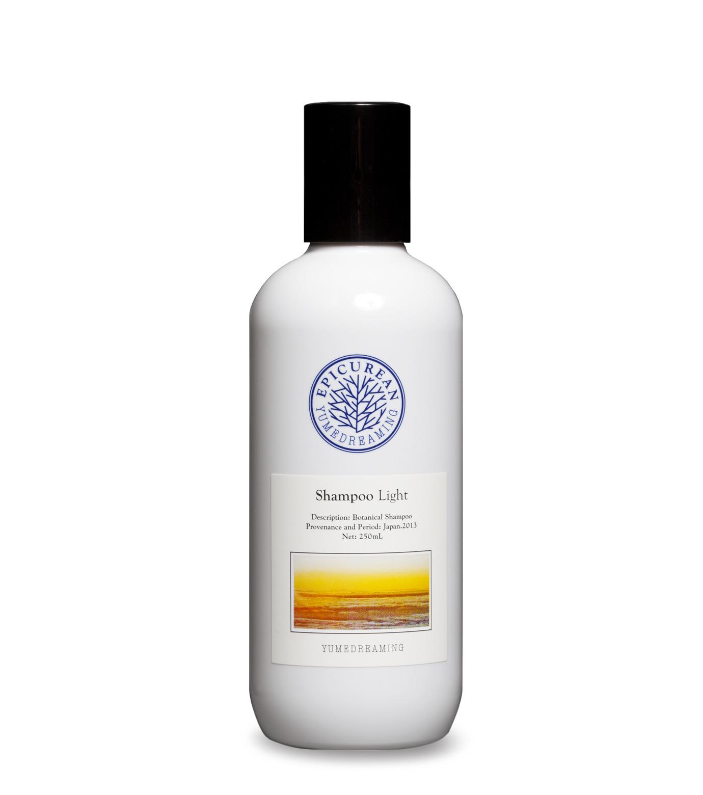 Yumedreaming Epicurean(ユメドリーミン エピキュリアン)のShampoo Light 250ml-WHITE(HAIR-CARE/HAIR-CARE)-ESHL-4 拡大詳細画像1