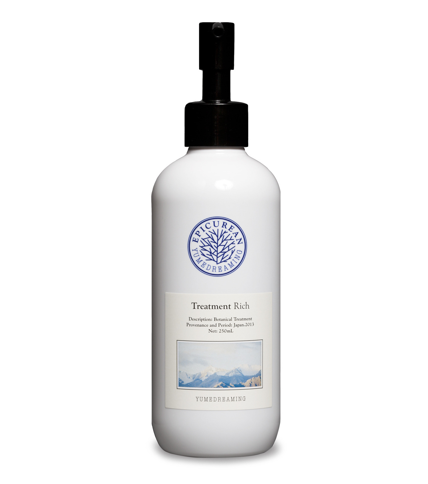 Yumedreaming Epicurean(ユメドリーミン エピキュリアン)のTreatment Rich 250ml-WHITE(HAIR-CARE/HAIR-CARE)-ETRR-4 拡大詳細画像1