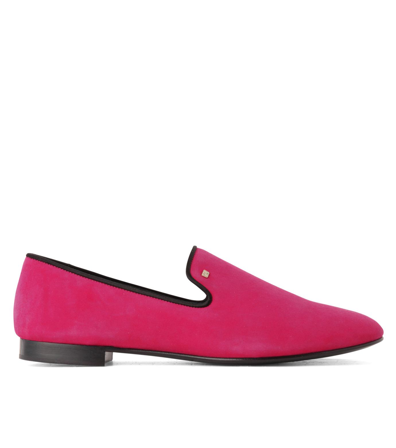 Giuseppe Zanotti Design(ジュゼッペザノッティ)のSuede Slipon-PINK(シューズ/shoes)-EU4010-CA5-72 拡大詳細画像1