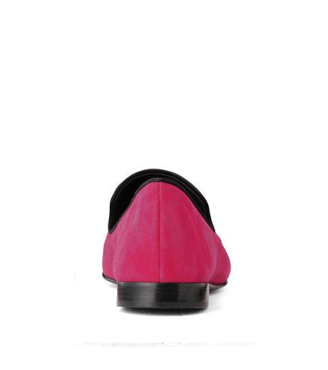 Giuseppe Zanotti Design(ジュゼッペザノッティ)のSuede Slipon-PINK(シューズ/shoes)-EU4010-CA5-72 詳細画像3