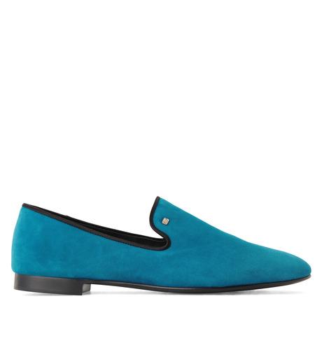 Giuseppe Zanotti Design(ジュゼッペザノッティ)のSuede Slipon-BLUE(シューズ/shoes)-EU4010-CA5-92 詳細画像1