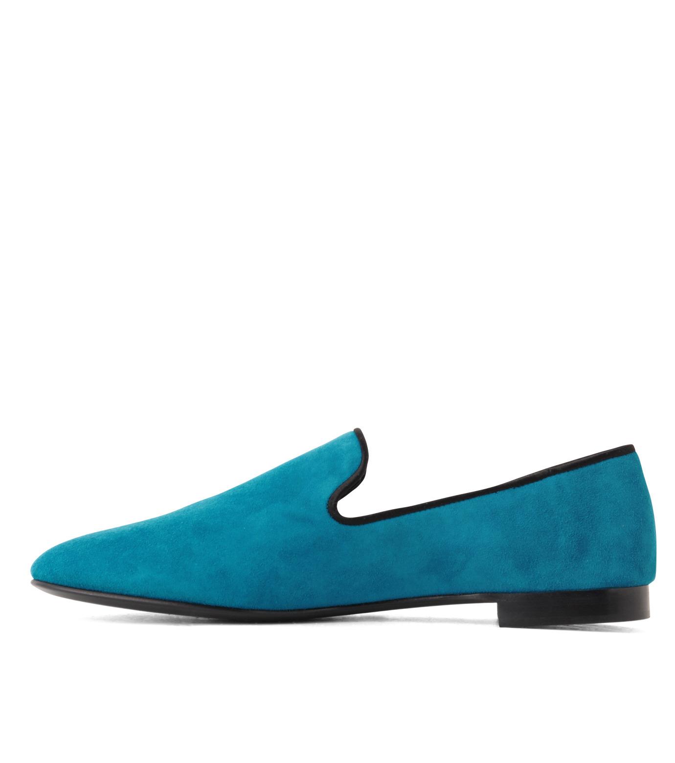 Giuseppe Zanotti Design(ジュゼッペザノッティ)のSuede Slipon-BLUE(シューズ/shoes)-EU4010-CA5-92 拡大詳細画像2
