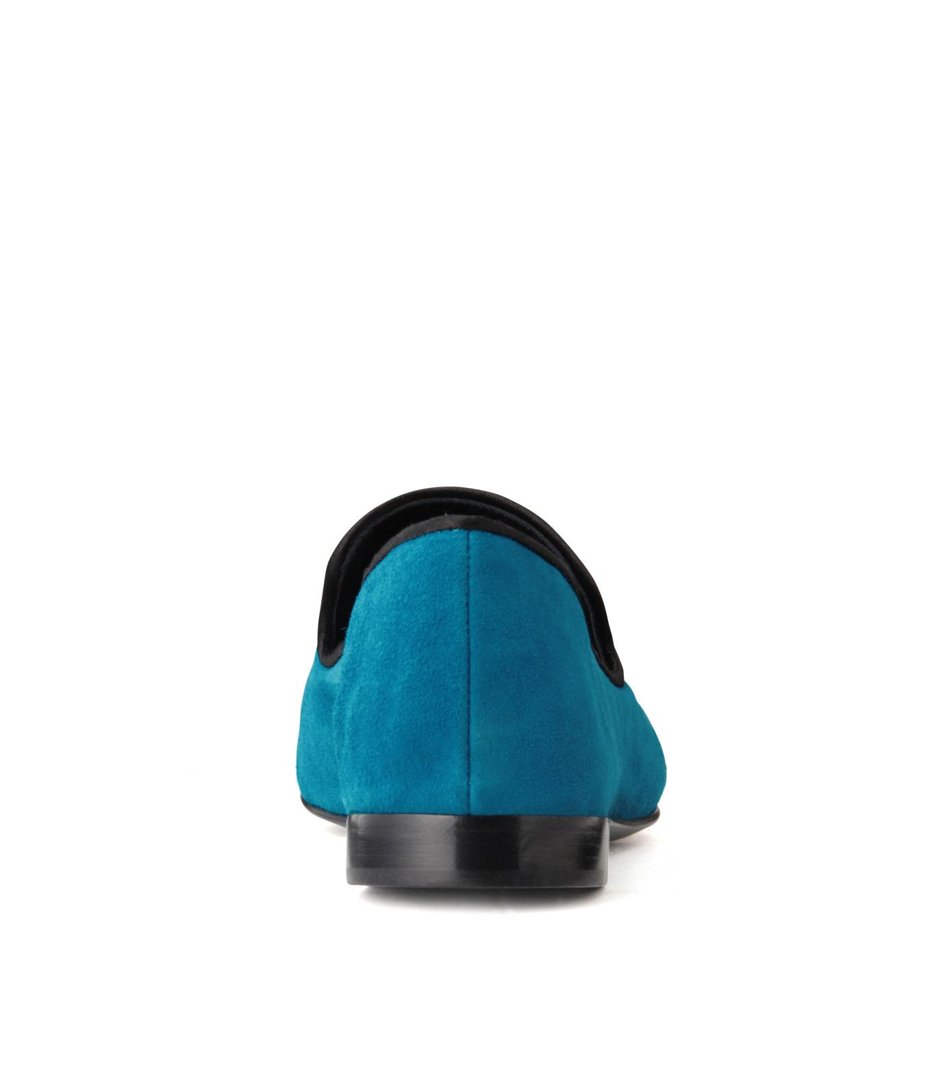 Giuseppe Zanotti Design(ジュゼッペザノッティ)のSuede Slipon-BLUE(シューズ/shoes)-EU4010-CA5-92 拡大詳細画像3