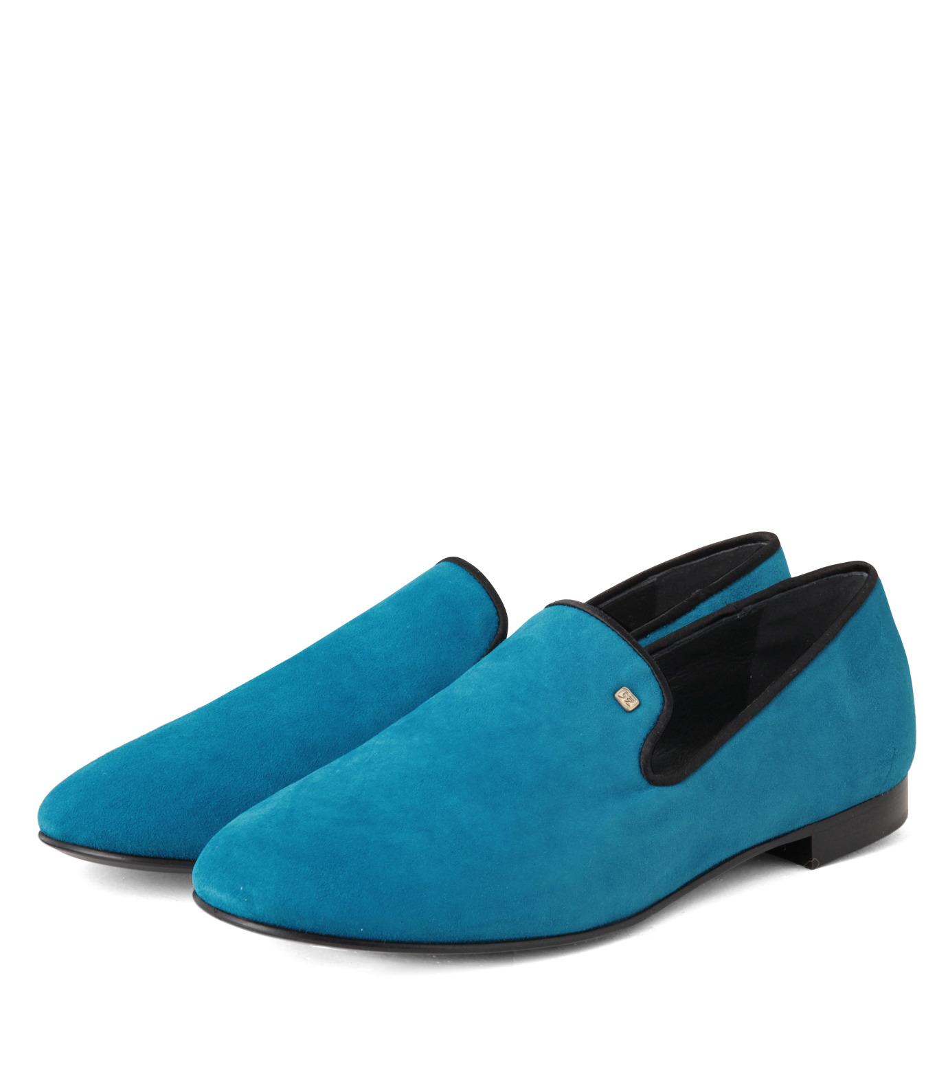 Giuseppe Zanotti Design(ジュゼッペザノッティ)のSuede Slipon-BLUE(シューズ/shoes)-EU4010-CA5-92 拡大詳細画像4