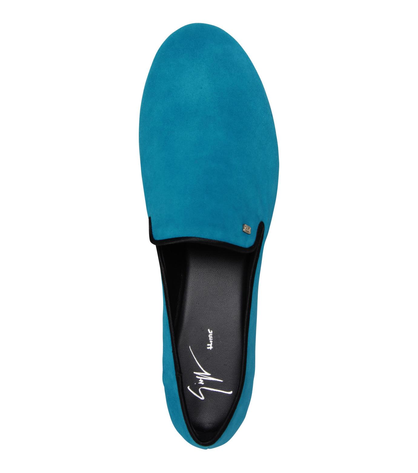 Giuseppe Zanotti Design(ジュゼッペザノッティ)のSuede Slipon-BLUE(シューズ/shoes)-EU4010-CA5-92 拡大詳細画像5