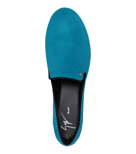 Giuseppe Zanotti Design(ジュゼッペザノッティ)のSuede Slipon-BLUE(シューズ/shoes)-EU4010-CA5-92 詳細画像5