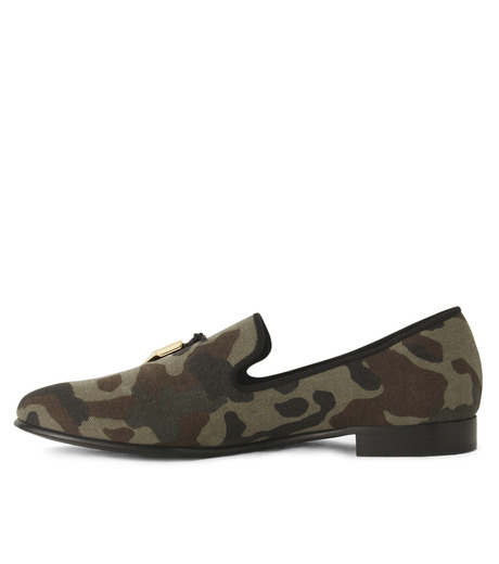 Giuseppe Zanotti Design(ジュゼッペザノッティ)のCamoflage Loafer-GREEN(シューズ/shoes)-EU5023JP-T-22 詳細画像2