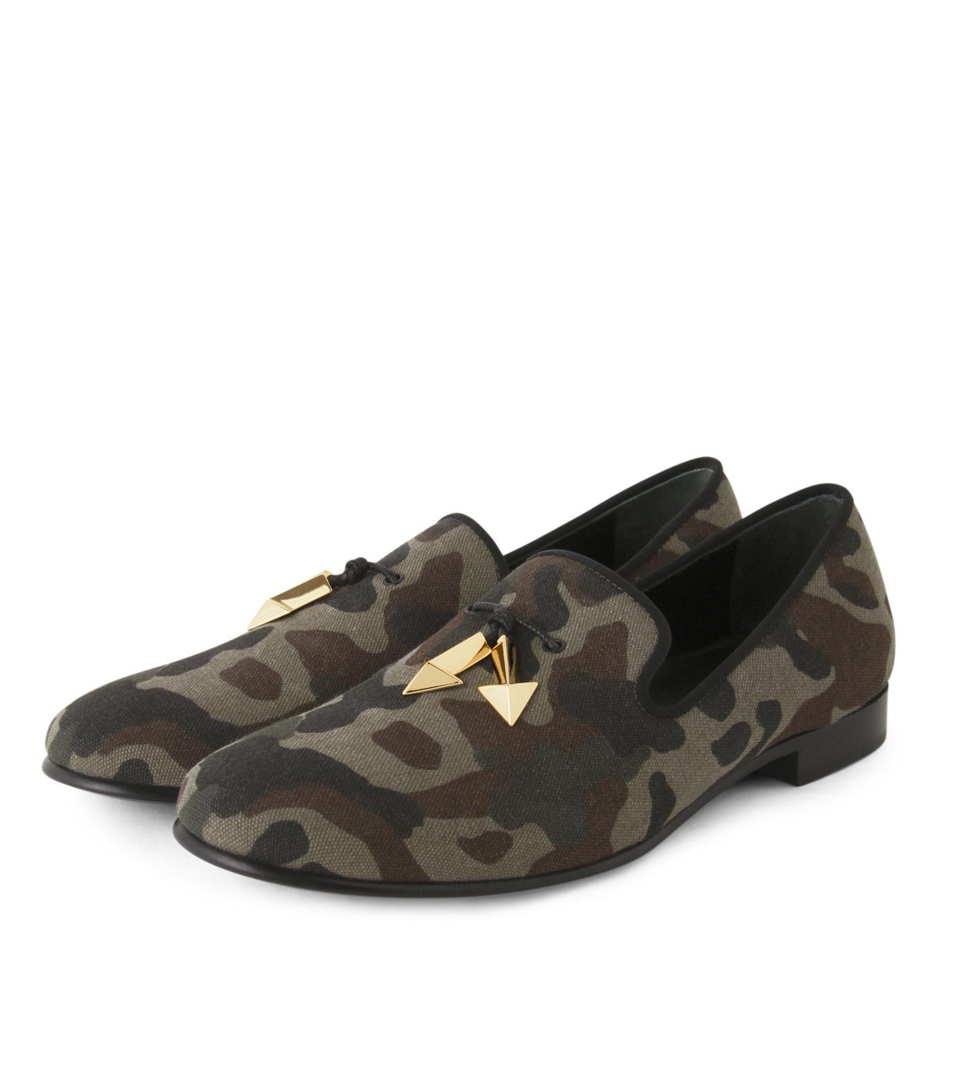 Giuseppe Zanotti Design(ジュゼッペザノッティ)のCamoflage Loafer-GREEN(シューズ/shoes)-EU5023JP-T-22 拡大詳細画像4