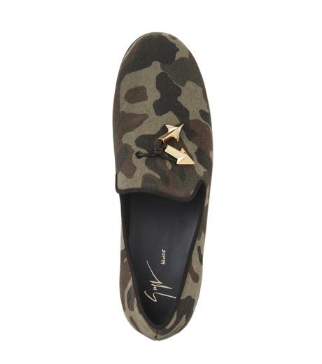 Giuseppe Zanotti Design(ジュゼッペザノッティ)のCamoflage Loafer-GREEN(シューズ/shoes)-EU5023JP-T-22 詳細画像5