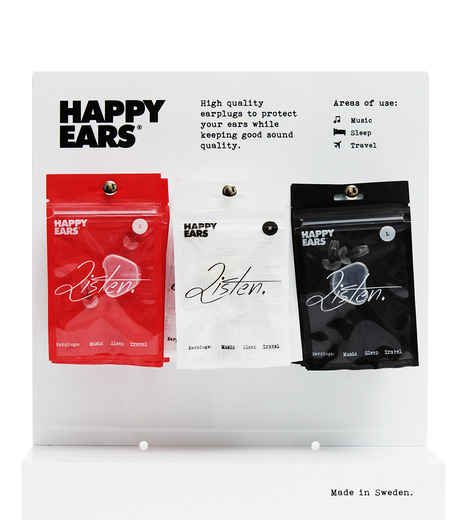 HAPPY EARS(ハッピー イヤーズ)のEAR PLUG2.0 large-BLACK(ガジェット/gadgets)-Earplug-l-13 詳細画像3