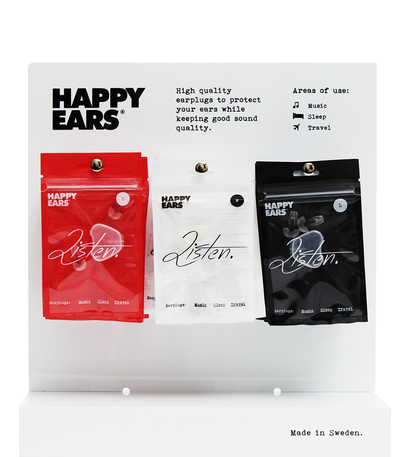 HAPPY EARS(ハッピー イヤーズ)のEAR PLUG2.0 medium-NONE(ガジェット/gadgets)-Earplug-m-0 拡大詳細画像3