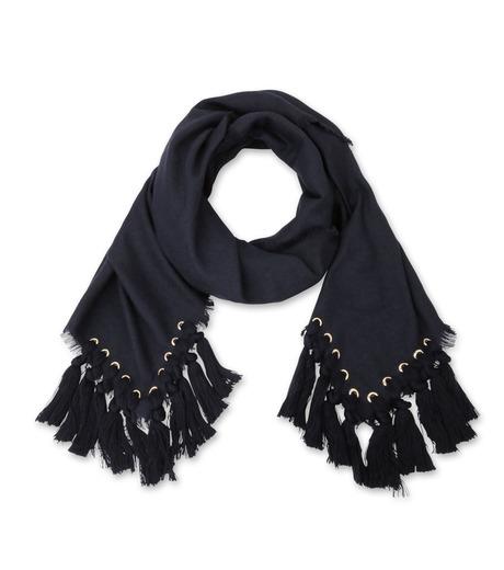 Chloe(クロエ)のpompon scarf-NAVY(ストール/stole)-F057PQ5B-93 詳細画像3