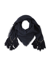Chloe pompon scarf