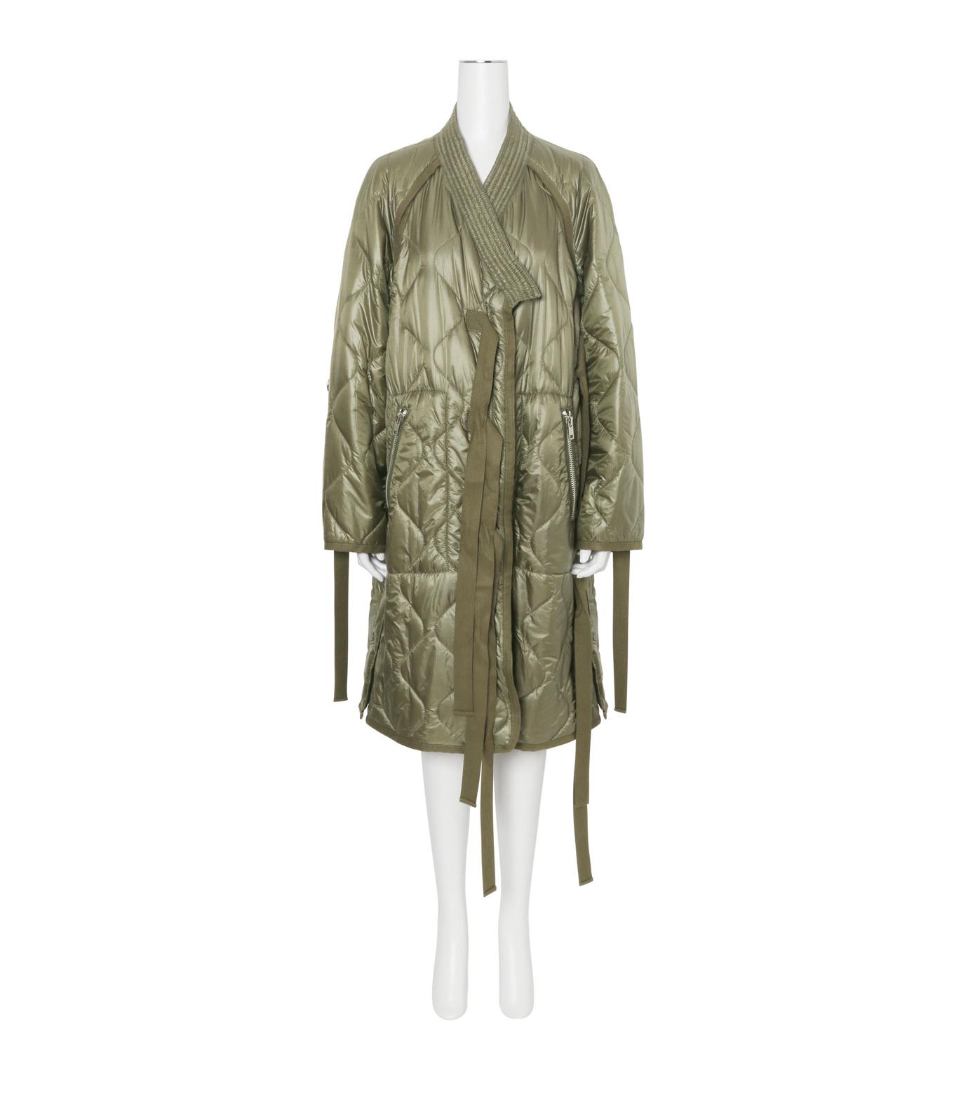 3.1 Phillip Lim(スリーワン フィリップリム)のLong Utility Kimono Jacket-KHAKI(コート/coat)-F161-8326RSN-24 拡大詳細画像1