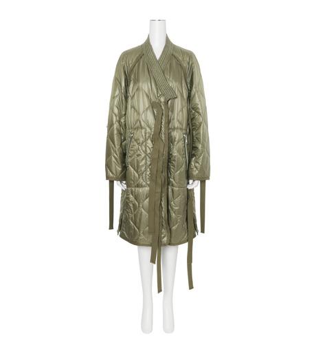 3.1 Phillip Lim(スリーワン フィリップリム)のLong Utility Kimono Jacket-KHAKI(コート/coat)-F161-8326RSN-24 詳細画像1